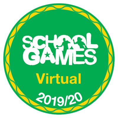 School Games Virtual 2019-2020 logo